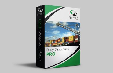 International Business Import Export Duty Drawback | DutyCalc | Software | Process and File | Full Service